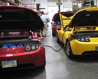 Highlight for Album: Tesla Charging Station at Wayland Inv. IV
