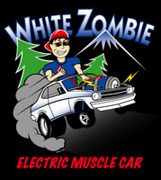 Highlight for Album: 'Electric Muscle Car' T-Shirt