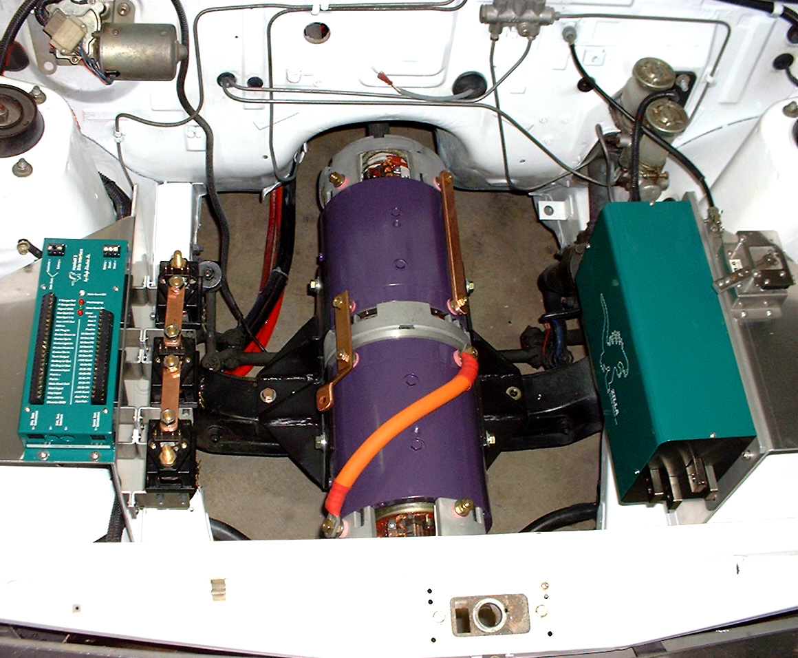 The new Under-hood Area