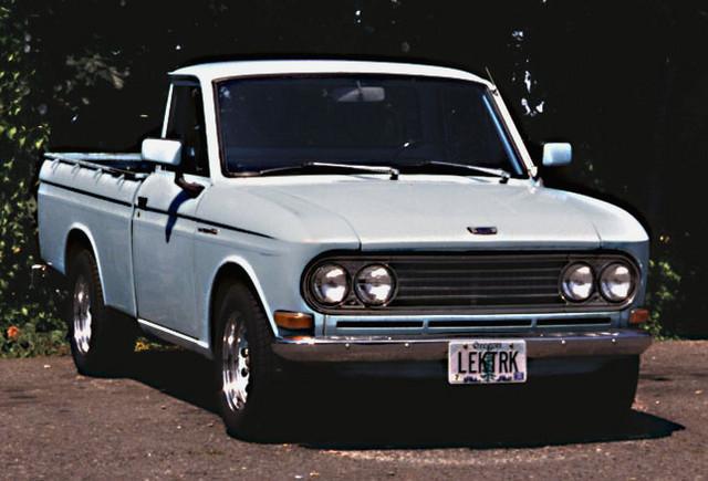 '68 Datsun minitruck 'Baby Blue'