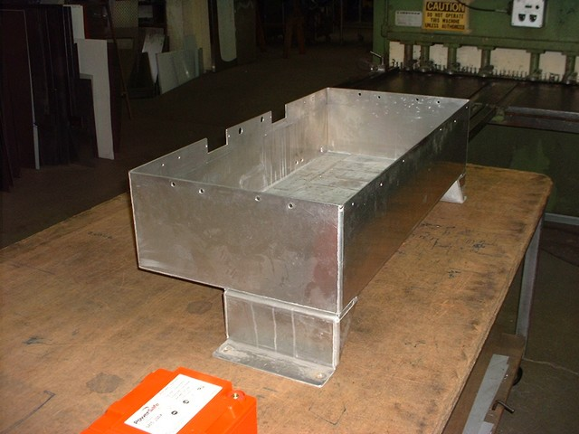 Old Rear Seat Area Battery Box