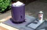 Motor bodies get a fresh coat of purple paint