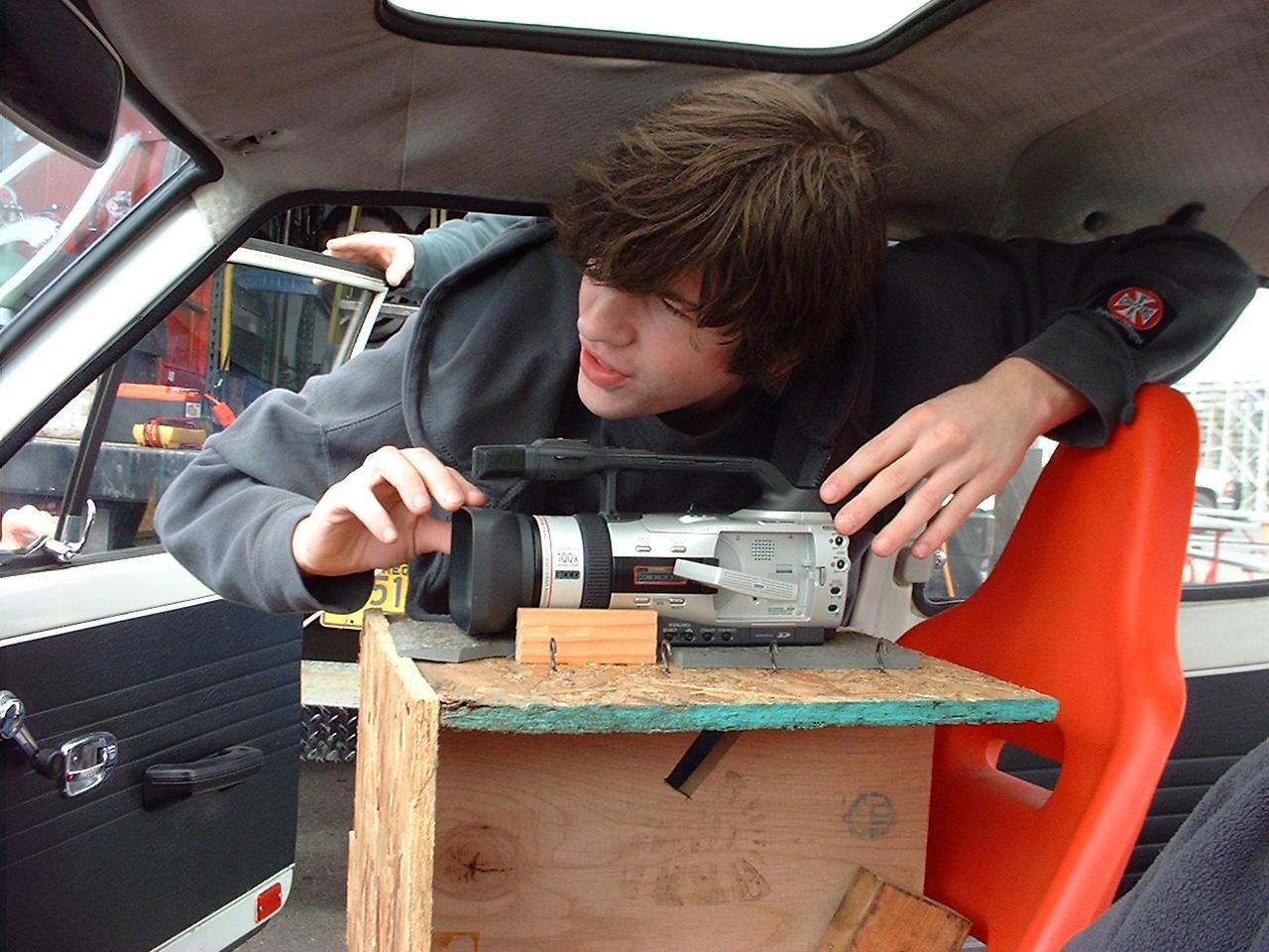 Garrett Sheldon and the car-cam