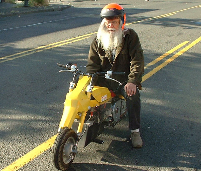 Father Time and 'The Yellow Bike'