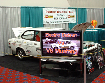 The Display with BIG screen